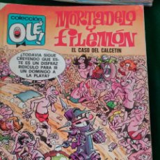 Cómics: MORTADELO Y FILEMON Nº 128 M. 80 - EDICIONES B 1ª EDICIÓN AGOSTO 1988 - COLECCION OLÉ!. Lote 67032002