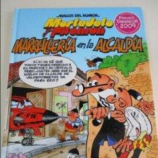 Cómics: MORTADELO Y FILEMON. MARRULLERIA EN LA ALCALDIA. MAGOS DEL HUMOR 139. FRANCISCO IBAÑEZ. EDICIONES B,. Lote 67386569