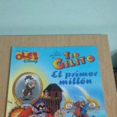 Cómics: COLECCION OLE DISNEY Nº 36. EL TIO GILITO. EL PRIMER MILLON. EDICIONES B 1997. IMPECABLE. Lote 67446289