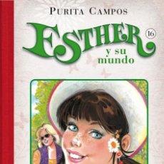 Cómics: CÓMICS. ESTHER Y SU MUNDO 16 - PURITA CAMPOS (CARTONÉ). Lote 67781881