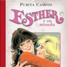 Cómics: CÓMICS. ESTHER Y SU MUNDO 17 - PURITA CAMPOS (CARTONÉ). Lote 189627415