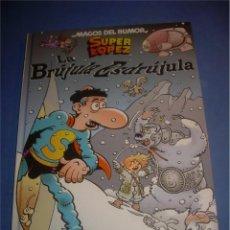 Comics - SUPERLOPEZ SUPER LOPEZ. LA BRÚJULA ESDRÚJULA. MAGOS DEL HUMOR 125. JAN. EDICIONES B 2008. COMIC - 68700645