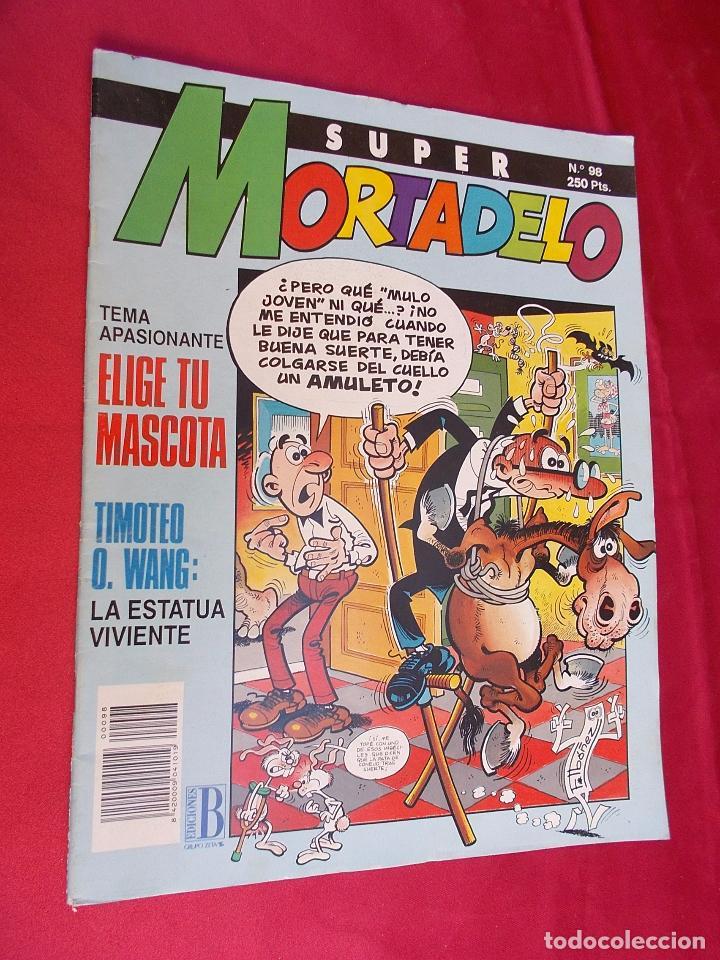 SUPER MORTADELO. Nº 98. EDICIONES B. (Tebeos y Comics - Ediciones B - Humor)