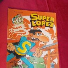 Comics - OLÉ!. Nº 18. SUPER LÓPEZ. LA BANDA DEL DRAGÓN DESPEINADO. EDICIONES B. 1993. 1ª EDICIÓN. - 68944505