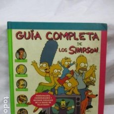Cómics: GUÍA COMPLETA DE LOS SIMPSON, EDICIONES B TAPA DURA . Lote 68964857