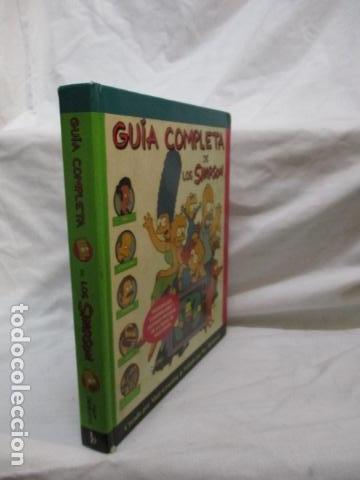 Cómics: GUÍA COMPLETA DE LOS SIMPSON, EDICIONES B TAPA DURA - Foto 3 - 68964857