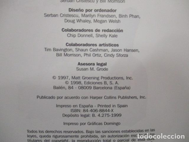 Cómics: GUÍA COMPLETA DE LOS SIMPSON, EDICIONES B TAPA DURA - Foto 8 - 68964857