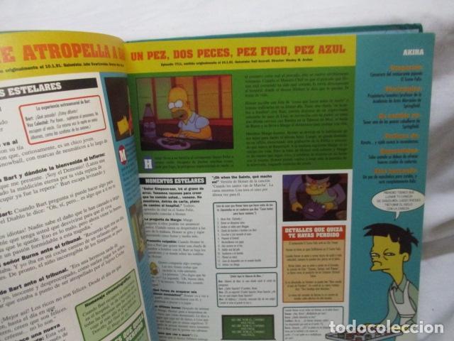 Cómics: GUÍA COMPLETA DE LOS SIMPSON, EDICIONES B TAPA DURA - Foto 12 - 68964857