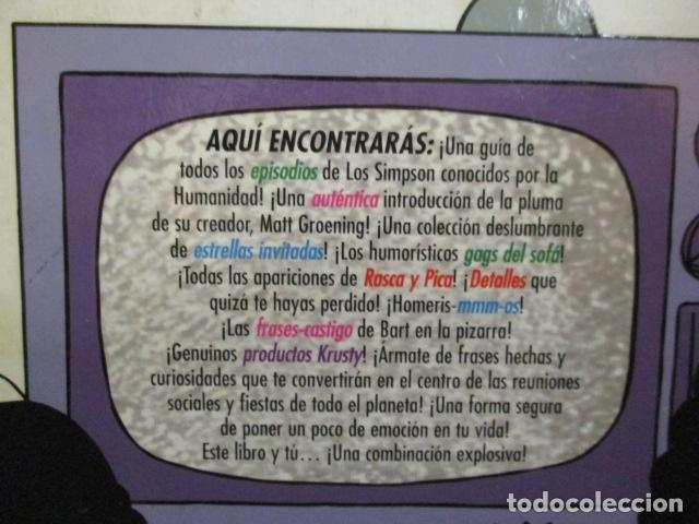Cómics: GUÍA COMPLETA DE LOS SIMPSON, EDICIONES B TAPA DURA - Foto 15 - 68964857