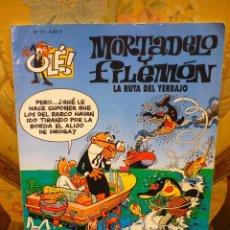 Cómics: COLECCIÓN OLÉ Nº 78. MORTADELO Y FILEMÓN: LA RUTA DEL YERBAJO. EDICIONES B, 1ª EDICIÓN 2.008.. Lote 68966449