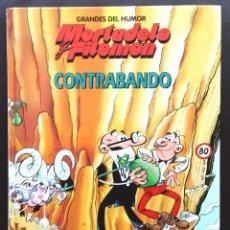 Cómics: GRANDES DEL HUMOR Nº 7 MORTADELO Y FILEMON CONTRABANDO IBAÑEZ 1996 EDICIONES B TAPA DURA. Lote 69540073
