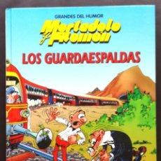 Cómics: GRANDES DEL HUMOR Nº 6 MORTADELO Y FILEMON LOS GUARDAESPALDAS IBAÑEZ 1996 EDICIONES B TAPA DURA. Lote 131105471