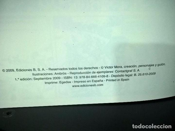 Cómics: EL CORSARIO DE HIERO 2 TOMOS. AMBROS - VICTOR MORA. EDICIONES B 1ª EDICION ABRIL 2009. COMICS. - Foto 3 - 69843345