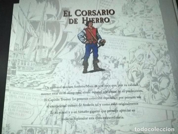 Cómics: EL CORSARIO DE HIERO 2 TOMOS. AMBROS - VICTOR MORA. EDICIONES B 1ª EDICION ABRIL 2009. COMICS. - Foto 5 - 69843345