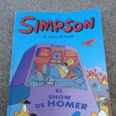 Cómics: SIMPSON -- EL SHOW DE HOMER -- EDICIONES B - 2004 --. Lote 69992921