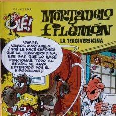 Cómics: MORTADELO Y FILEMON Nº 7 LA TERGIVERSICINA COLEC OLE. Lote 71247163