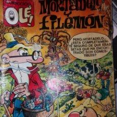 Cómics: OLÉ!, Nº 35.M 185. MORTADELO Y FILEMÓN. . EDCI. B. 1ª EDC. 1990. Lote 71334303
