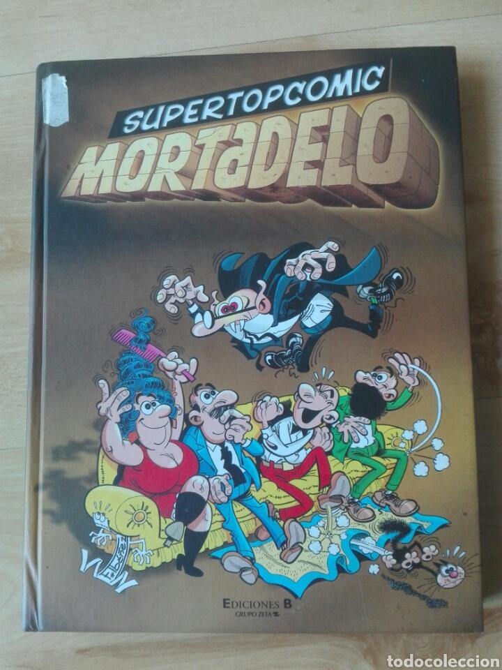 SUPER TOPCOMIC MORTADELO Nº 1. TOMO EDICIONES B (Tebeos y Comics - Ediciones B - Humor)