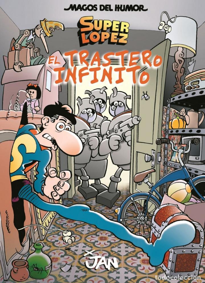 CÓMICS. MAGOS DEL HUMOR 181. SUPERLÓPEZ. EL TRASTERO INFINITO - JAN (CARTONÉ) (Tebeos y Comics - Ediciones B - Humor)