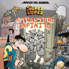 Cómics: CÓMICS. MAGOS DEL HUMOR 181. SUPERLÓPEZ. EL TRASTERO INFINITO - JAN (CARTONÉ). Lote 210528918