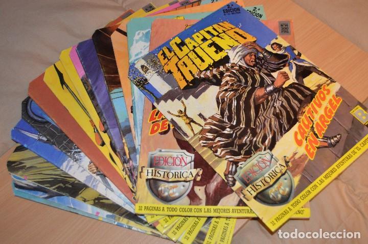 LOTE DE 16 NUMEROS DE EL CAPITAN TRUENO - EDICIONES B - GRUPO Z - EDICION HISTORICA (Tebeos y Comics - Ediciones B - Clásicos Españoles)