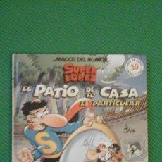 Cómics: SUPER LOPEZ Nº 96 EL PATIO DE TU CASA ES PARTICULAR PASTA DURA D2. Lote 73024027