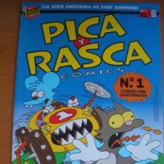 Cómics: PICA Y RASCA COMICS #1. Lote 73474235