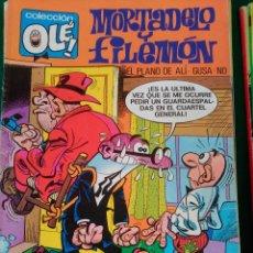 Cómics: MORTADELO Y FILEMON Nº 107 M.172 - EDICIONES B 1ª EDICIÓN MAYO 1990 - COLECCION OLÉ! . Lote 73488839