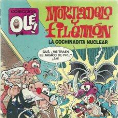 Cómics: MORTADELO Y FILEMON - LA COCHINADITA NUCLEAR Nº 350 - M.147- EDICIONES B 1ª EDICION JULIO 1989 . Lote 73488935