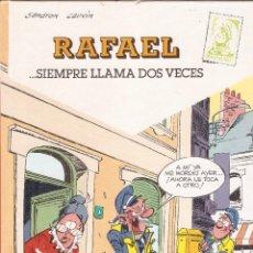Cómics: RAFAEL ... SIEMPRE LLAMA DOS VECES - SANDRON CAUVIN - Nº 1 - EDICIONES B, 1990.. Lote 73537227