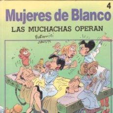 Cómics: MUJERES DE BLANCO Nº 4. LAS MUCHACHAS OPERAN - BERCOVICI, CAUVIN - DRAGON COMICS ~1ª ED. 1991. Lote 73540235