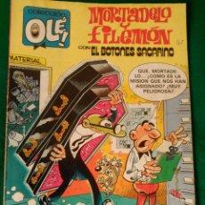 Cómics: MORTADELO Y FILEMON CON EL BOTONES SACARINO Nº 257 - M.46 - EDICIONES B EDICION SEPTIEMBRE 1987 . Lote 73597011