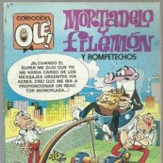 Cómics: MORTADELO Y FILEMON CON ROMPETECHOS Nº 279 - M.51 - EDICIONES B EDICION NOVIEMBRE 1987 . Lote 73597295