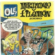 Cómics: MORTADELO Y FILEMON Nº 141 - M.11 - ¡SOBORNO! - EDICIONES B 2ª EDICION SEPTIEMBRE 1991 . Lote 73597379