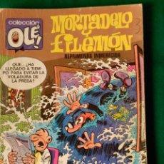 Cómics: MORTADELO Y FILEMON Nº 115 M.3 - EDICIONES B 1ª EDICIÓN ENERO 1987 5ª EDICION ENERO 1987 - OLE! . Lote 73597447