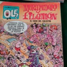 Cómics: MORTADELO Y FILEMON Nº 128 M. 80 - EDICIONES B 1ª EDICIÓN AGOSTO 1988 - COLECCION OLÉ! . Lote 73597711