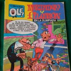 Cómics: MORTADELO Y FILEMON EN LA OLIMPIADA Nº 97 M 63 - EDICIONES B 1ª EDICIÓN MAYO 1988 - COLECCION OLÉ! . Lote 73597747