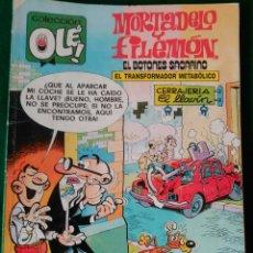 Cómics: MORTADELO Y FILEMON, EL BOTONES SACARINO Nº 182 - M. 99 - EDICIONES B 1ª EDICION NOVIEMBRE 1988 . Lote 73597799