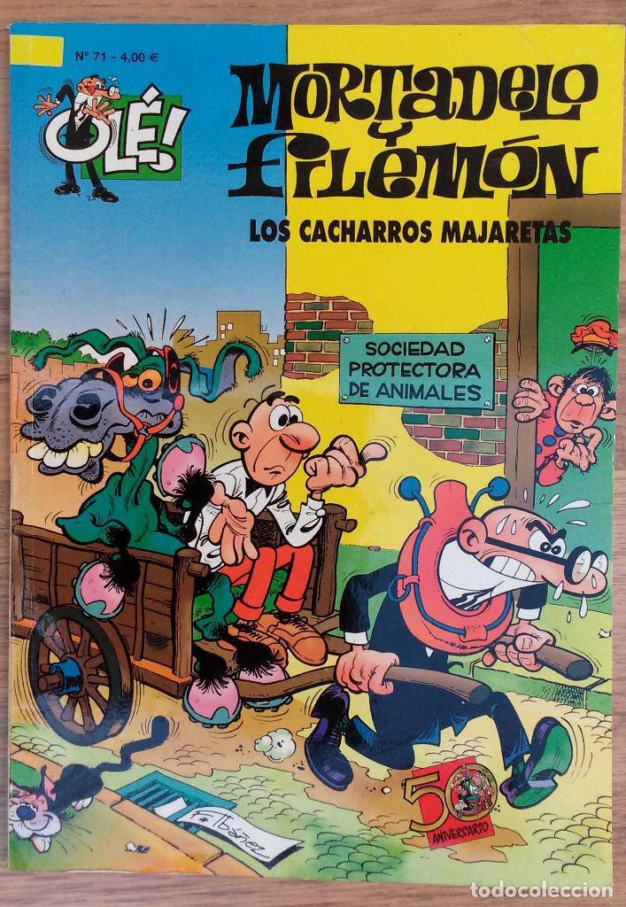 MORTADELO Y FILEMON NUMERO 71 LOS CACHARROS MAJARETAS EDICIONES B (Tebeos y Comics - Ediciones B - Clásicos Españoles)