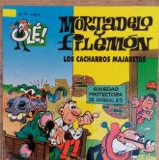 Comics : MORTADELO Y FILEMON NUMERO 71 LOS CACHARROS MAJARETAS EDICIONES B. Lote 73930155