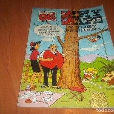 Comics: ZIPI ZAPE Y TOBY TRASTADAS A TUTIPLEN COLECCION OLE BRUGUERA 1ª EDICION 1984. Lote 74395191