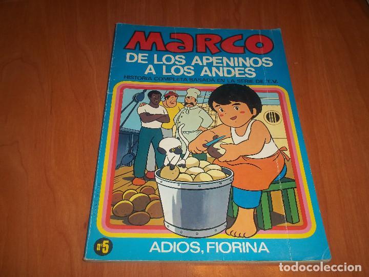 MARCO DE LOS APENINOS A LOS ANDES SERIE TV Nº 5 ADIOS,FIORINA BRUGUERA 1977 (Tebeos y Comics - Ediciones B - Otros)