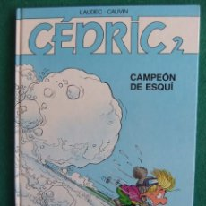 Cómics: CEDRIC 2 CAMPEON DE ESQUI. Lote 75291459