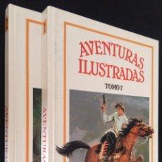Cómics: AVENTURAS ILUSTRADAS / 1 Y 2 / EDICIONES B. Lote 76092159
