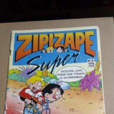 Cómics: CÓMIC ZIPIZAPE SUPER Nº21 1987 EDICIONES B. Lote 76193171