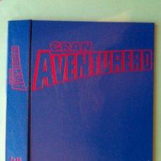 GRAN AVENTURERO, TAPAS PARA ENCUADERNAR NºS 7 A 12. EDICIONES B, AÑO 1989. NUEVAS. VER FOTOS