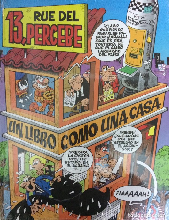 13 RUE DEL PERCEBE - UN LIBRO COMO UNA CASA - IBAÑEZ - EDICIONES B (Tebeos y Comics - Ediciones B - Clásicos Españoles)