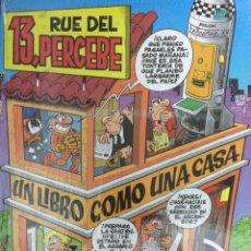 Cómics: 13 RUE DEL PERCEBE - UN LIBRO COMO UNA CASA - IBAÑEZ - EDICIONES B. Lote 162843632