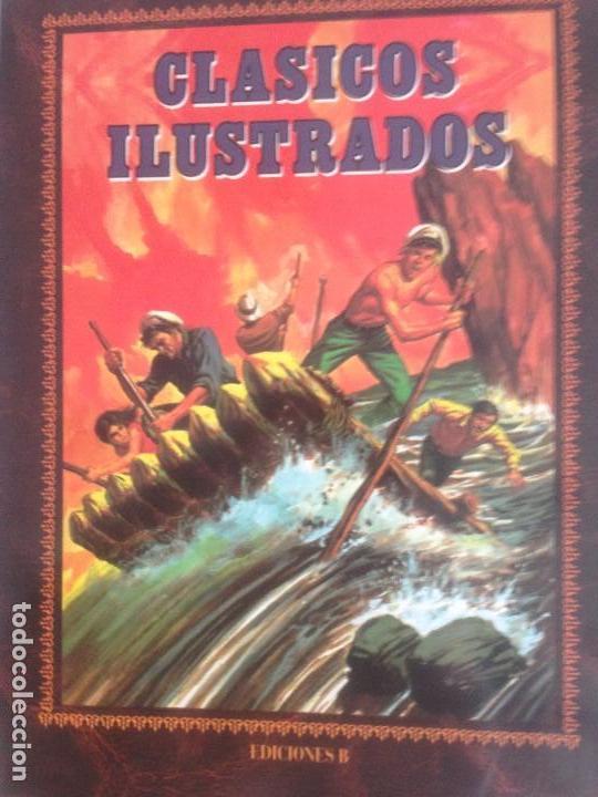 CLÁSICOS ILUSTRADOS, 6 TOMOS, EDICIÓN DE LUJO, 3.300 PÁGINAS (Tebeos y Comics - Ediciones B - Otros)