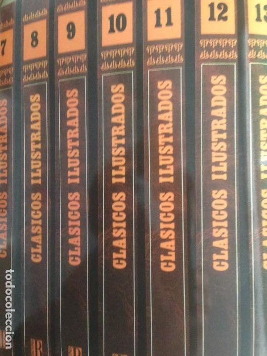 Cómics: Clásicos Ilustrados, 6 tomos, edición de lujo, 3.300 páginas - Foto 3 - 79752977